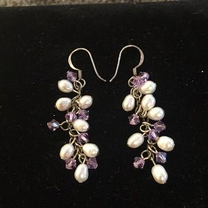 Jewelry - Sterling Silver and Fresh Water Pearl Earrings